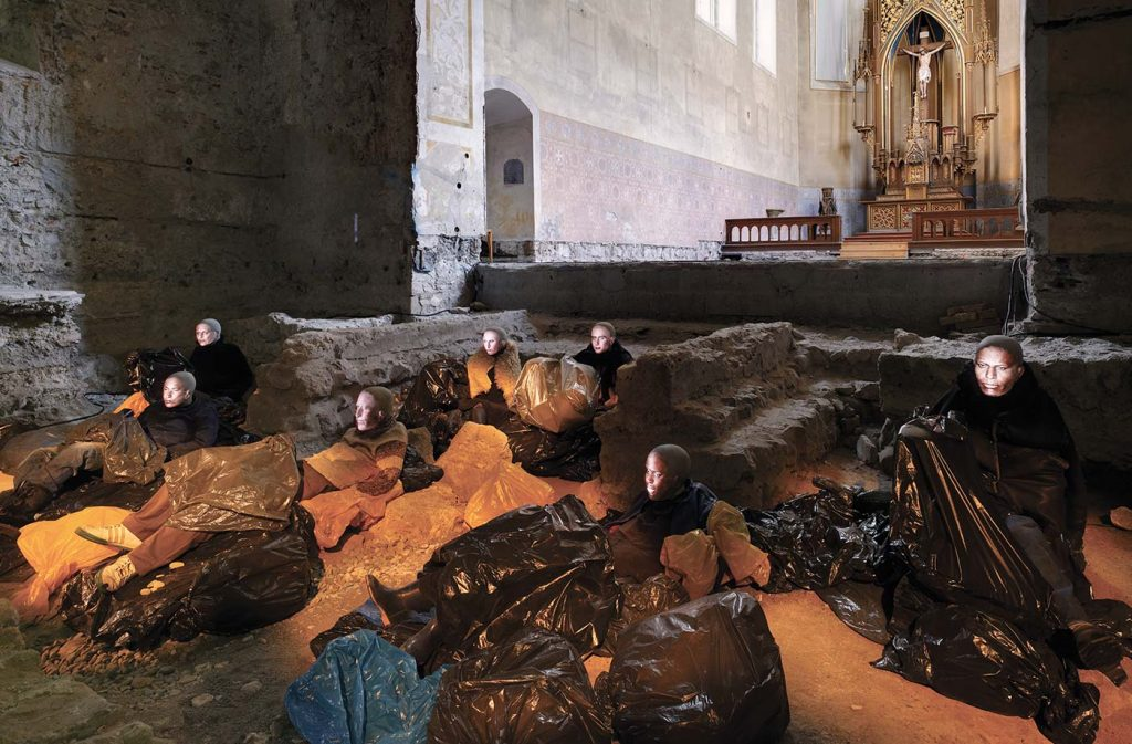 Glaser/Kunz, Homeless (2012) in der Johanniterkirche Feldkirch