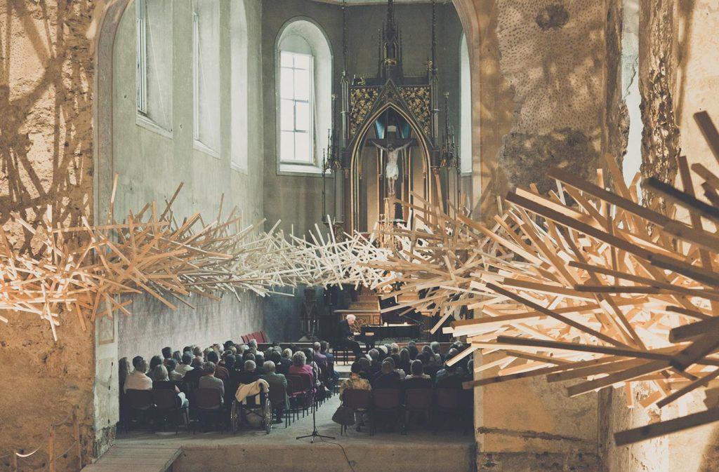 Martin Steinert, Transitions (2014) in der Johanniterkirche Feldkirch